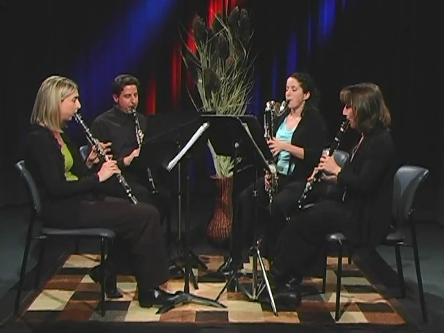The Christmas Song - More Clarinet Quartet